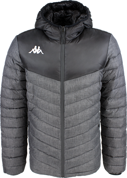 Doccio Padded Jacket Grey Melange / Black